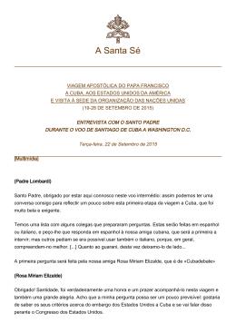 A Santa Sé - La Santa Sede