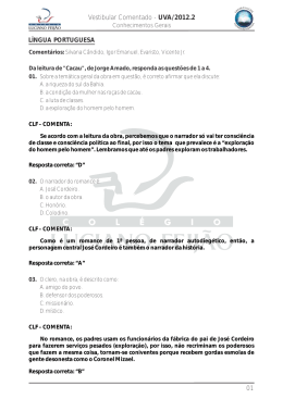 UVA 2012.1 PORTUGUÊS CG
