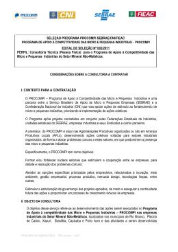 2 - EDITAL Nº 002 - Consultor PROCOMPI MINERAL