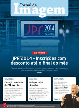 JPR`2014 – Inscrições com desconto até o final do mês