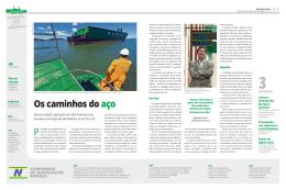 Os caminhos do aço - Companhia de Navegação Norsul