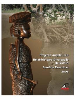 Projecto Angola LNG Relatório para Divulgação da ESHIA Sumário