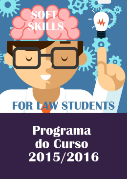 Curso Soft skills for Law students