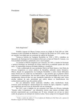 Franklin de Moura Campos - Academia de Medicina de São Paulo