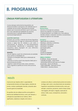 8. PROGRAMAS