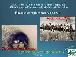 Auditório - 27 - Dr. José Ricardo Facin Ferreira