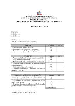 Formulário de Avaliação TCC - campusbreves