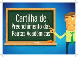 conhecer a cartilha - Faculdade Projeção