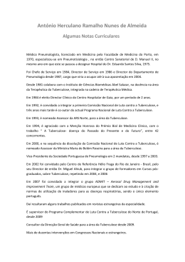 Dr. Ramalho de Almeida