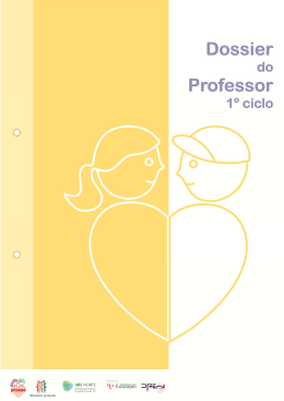 Dossier do professor 1º ciclo