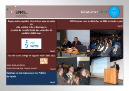 Newsletter SPMS Catálogo de Aprovisionamento Público da Saúde