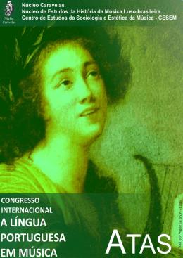 """Atas, Congresso Internacional """"A Língua Portuguesa em Música"""""""