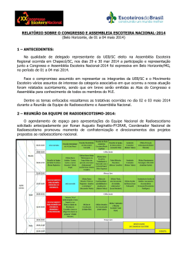 2014-05-02 RE no XX Congresso e Assembléia Nacional em BH