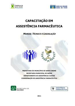 capacitação em assistência farmacêutica manual técnico - CRF-SP