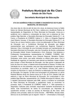 Arquivo disponível - Secretaria da Educação RC