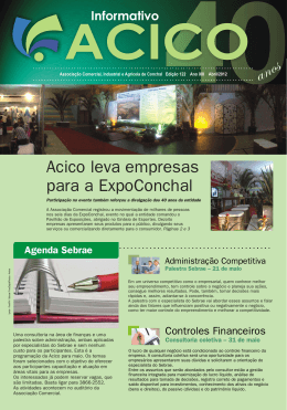 Informativo Acico - Abril de 2012
