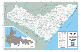 mapa rodoviário de alagoas - Polícia Militar de Alagoas