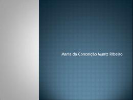 Maria da Conceição Muniz Ribeiro