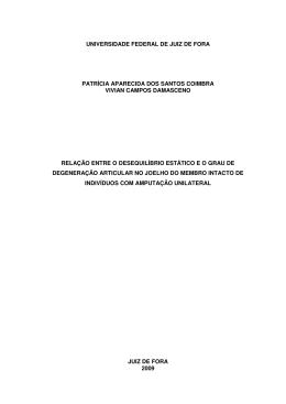 Membro intacto - Universidade Federal de Juiz de Fora