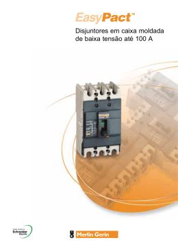 Disjuntores em caixa moldada de baixa tensão até 100 A