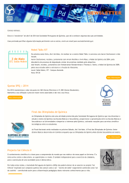 Newsletter SPQ :: Abril de 2014