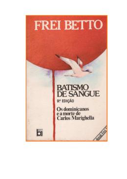 Frei Betto - Batismo de Sangue (rev)