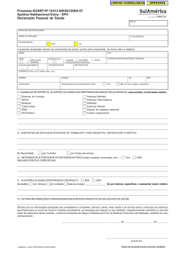 Processo SUSEP Nº 15414.005381/2002