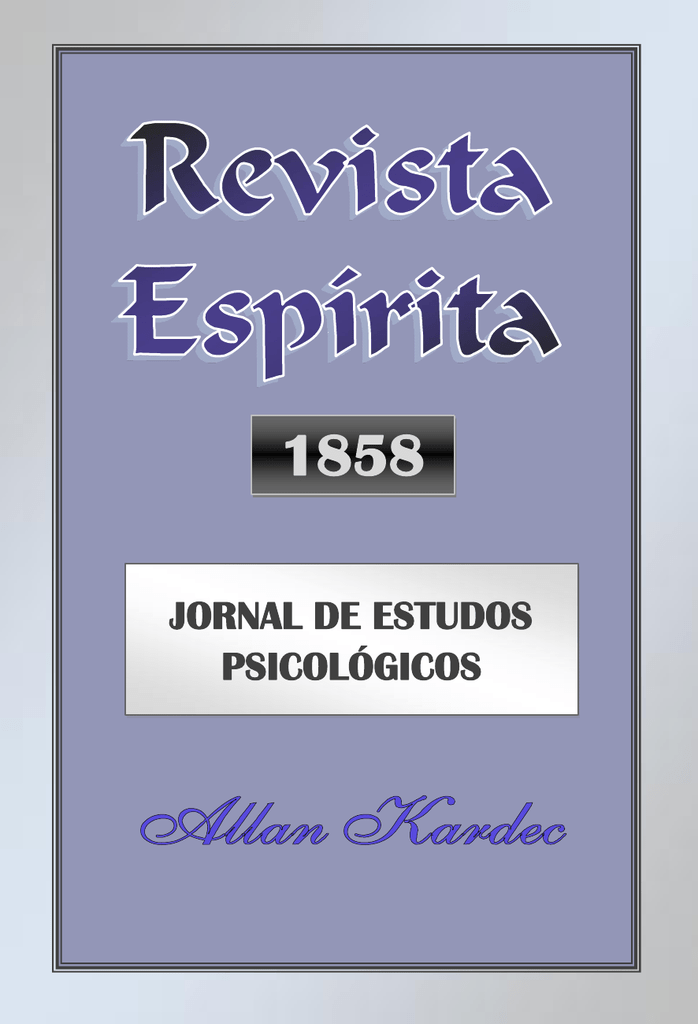 0e0764db117 Revista Espirita