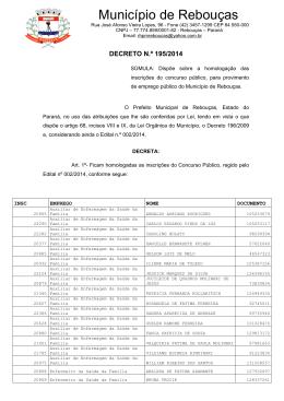 Decreto 195/2014