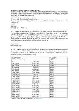 Lei nº 5147 de 06.12.2007 – DOE de 07.12.2007 - Sescon-RJ