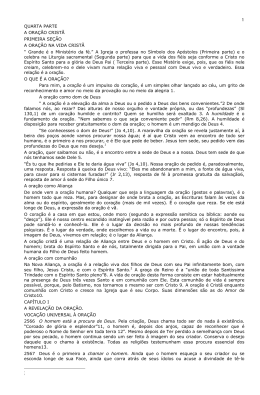QUARTA PARTE - Paróquia Santa Isabel