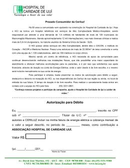 Autorização para Débito Valor R$