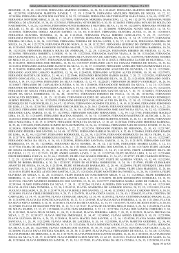 28/11/2014 - Edital nº 7