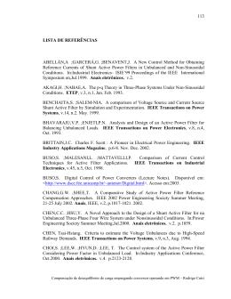 lista de referências - Biblioteca Digital de Teses e Dissertações da