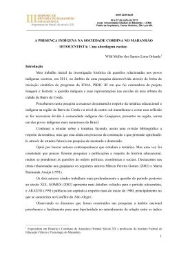 Normas para publicação dos textos completos nos anais eletrônicos