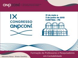 Cincias contbeis universidade anhanguera apresentao sobre o ix congresso anpcont fandeluxe Choice Image