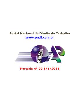 Portal Nacional de Direito do Trabalho