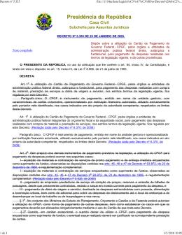 Decreto n° 5.355 de 25 de janeiro de 2005