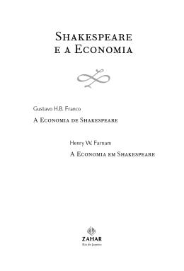 Trecho - Shakespeare e a economia