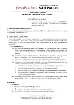 Instrução CETEC 001_2010