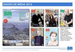 DaDos De míDia 2013 - Das Buch
