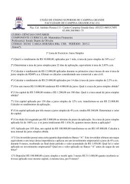 UNIÃO DE ENSINO SUPERIOR DE CAMPINA GRANDE