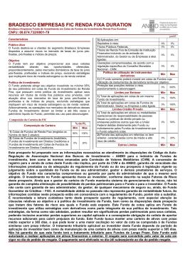 Prospecto - Bradesco Empresas