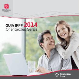 Orientações Gerais GUIA IRPF 2014