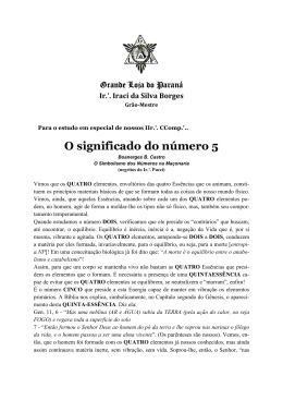 O significado do número 5