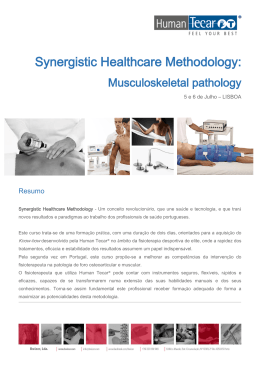 Synergistic Healthcare Methodology: