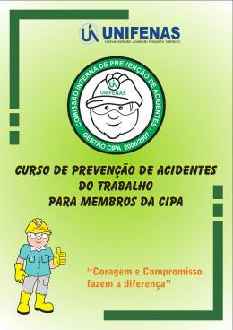 Curso de Prevenção de Acidentes do Trabalho para