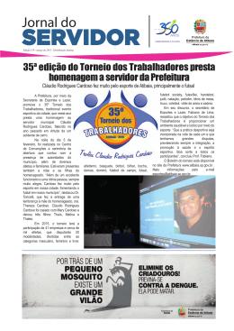 Jornal do Servidor - Prefeitura de Atibaia