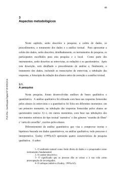 3 Aspectos metodológicos - Maxwell - PUC-Rio