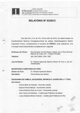 1 - Tribunal de Justiça do Estado de Goiás
